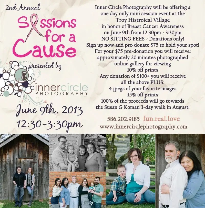 Sessions for a Cause II