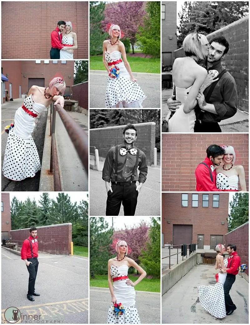 StyleSESSION0320 Scott Pilgrim Wedding - Styled Shoot