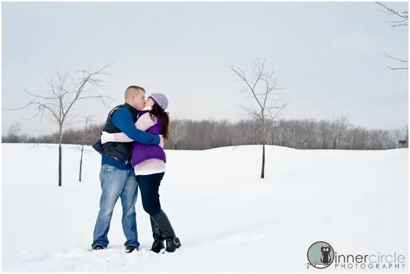 seantheresaENG051 Sean and Theresa ENGAGED! Winter Michigan Engagement