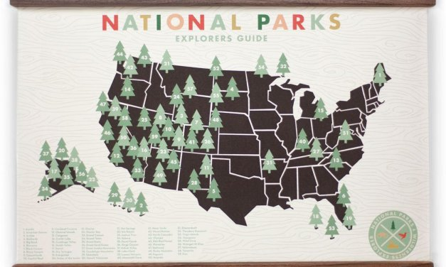 National Park Map Prints