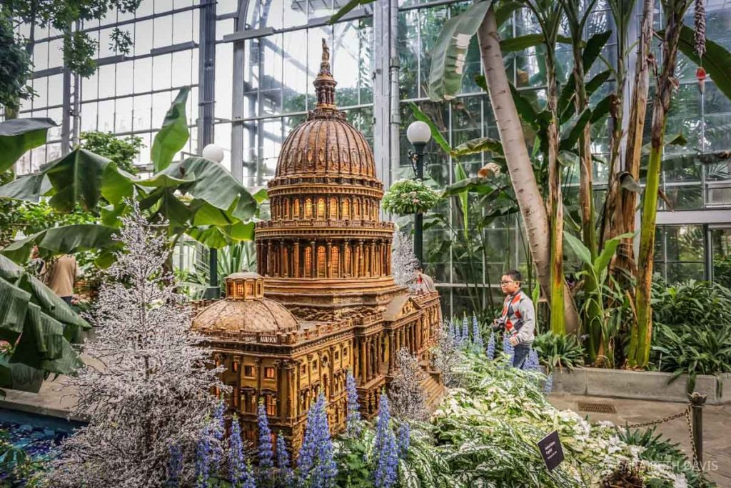 United States Botanic Garden Holiday Exhibit