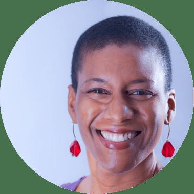 Portrait of Denise Jacobs, Writer + Speaker + Creativity Evangelist
