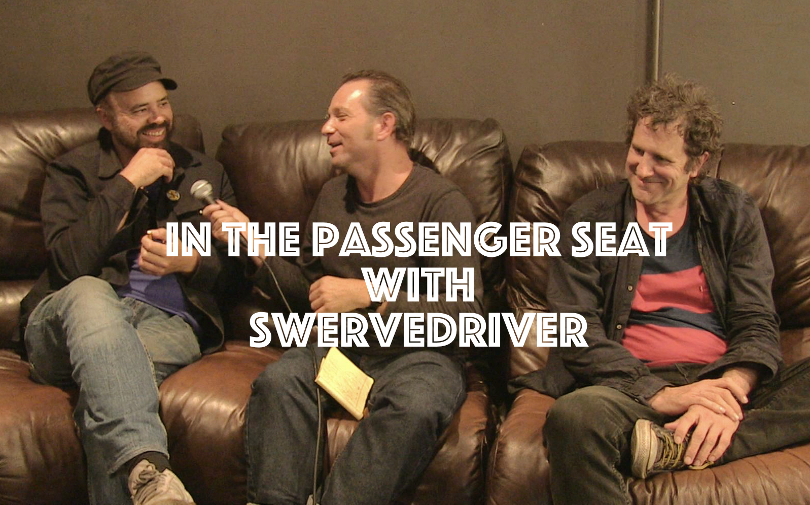 In The Passenger Seat With Swervedriver, InnerEdgeMusic.com