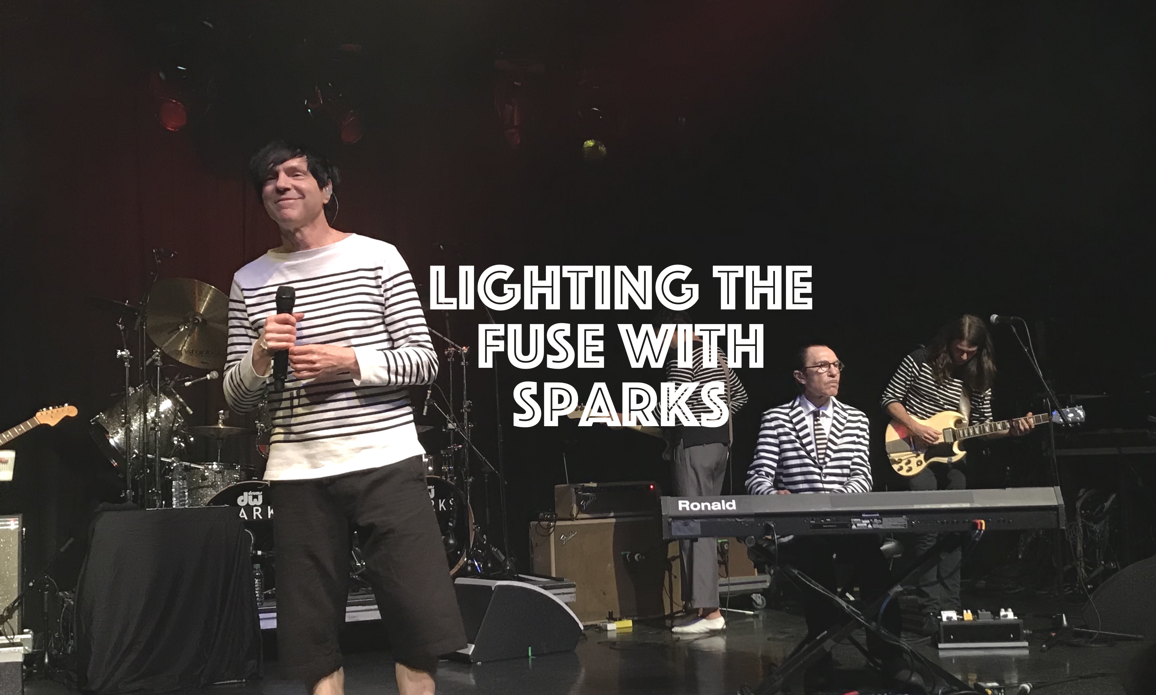 Lighting The Fuse With Sparks, InnerEdgeMusic.com