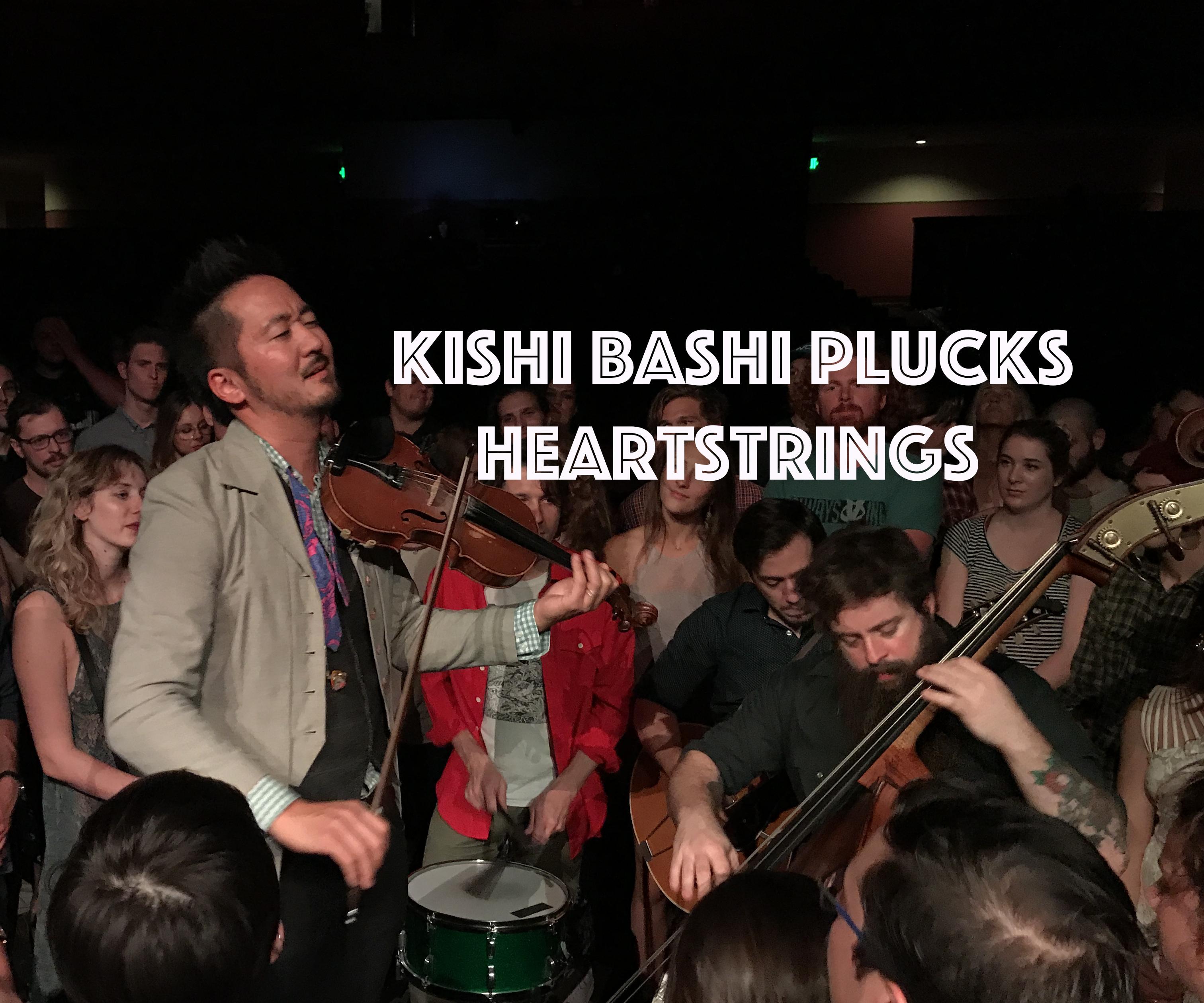 KishiBashiPlucksHeartstrings, InnerEdgeMusic.com