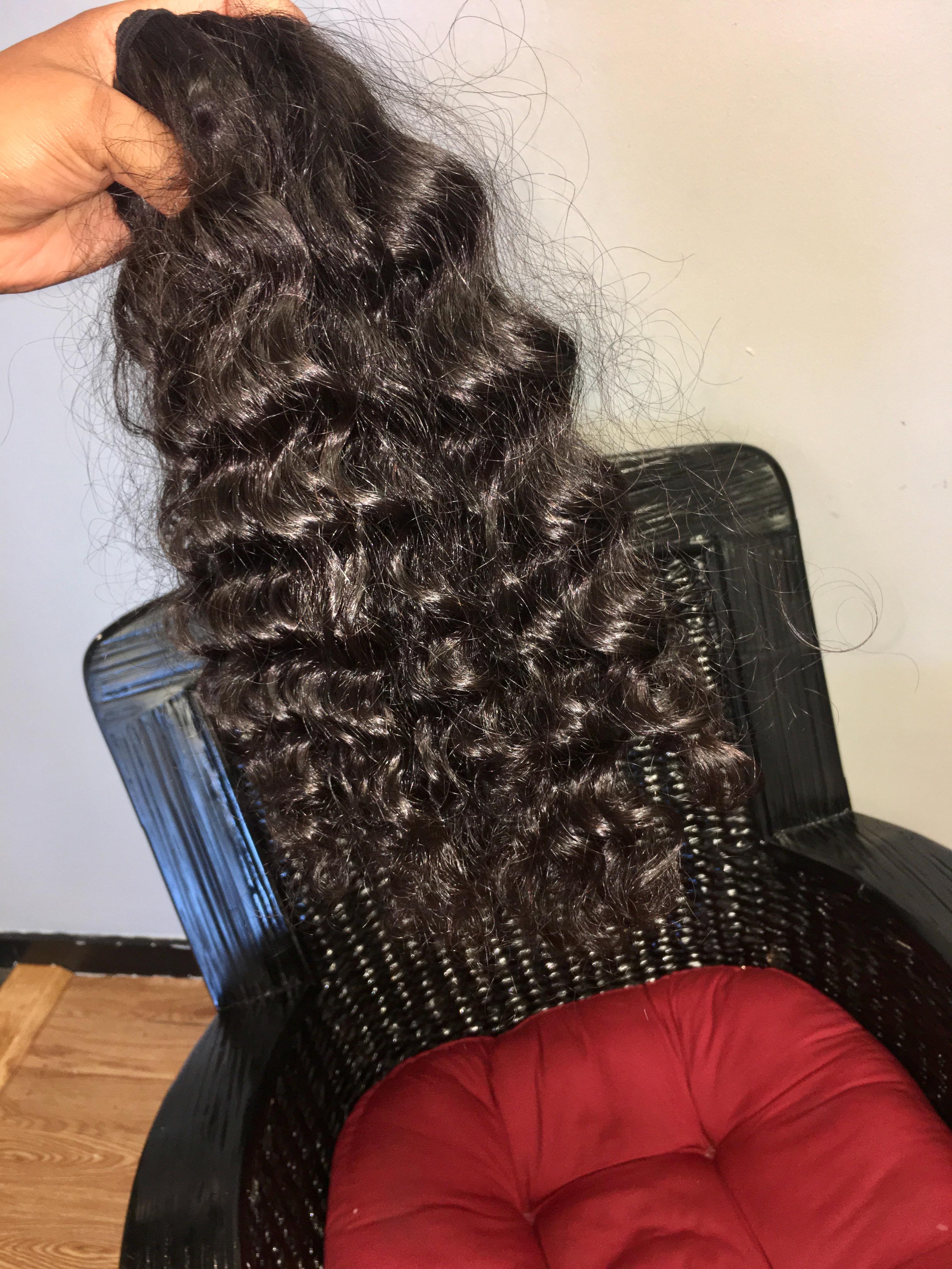 RAW Cambodian Curly Inner Faith Hair Company