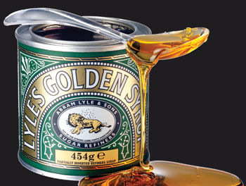 Tate and Lyle's Golden Syrup, a staple in our very English home