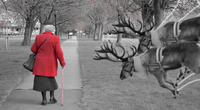 Five Holiday Tips for Keeping Your Grandma from Getting Run Over By a Reindeer