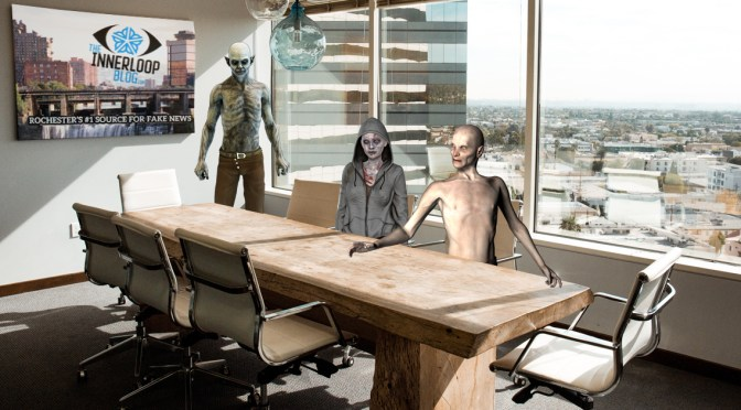 Zombies Invade Inner Loop Board Meeting, Actually Pitch Some Good Ideas