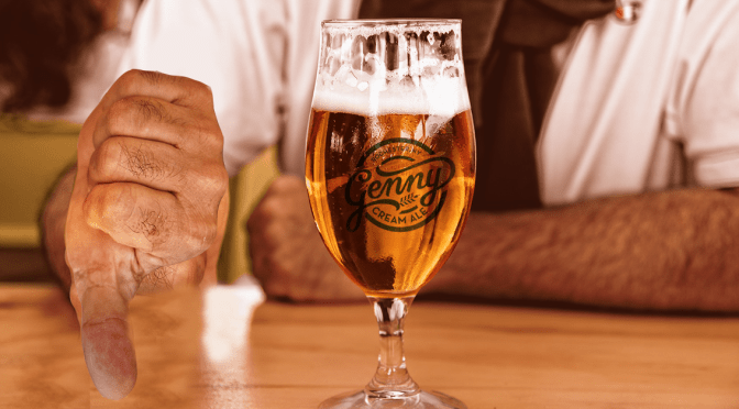 Genesee Drinkers Upset By New Non-Aluminum Flavored Cream Ale