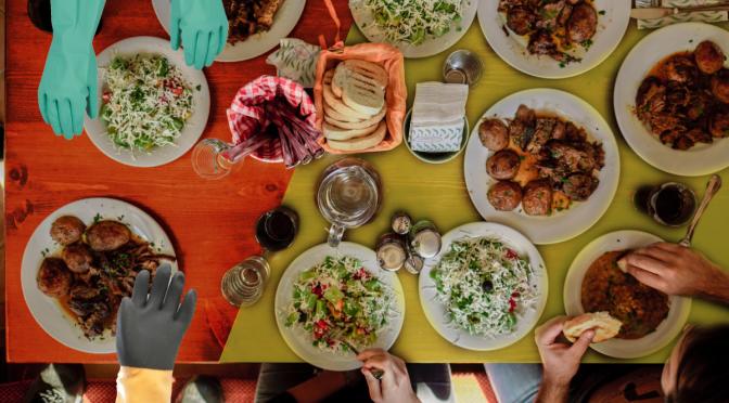 Thanksgiving Dining Room Table in Irondequoit Stuck Between Orange and Yellow Zones
