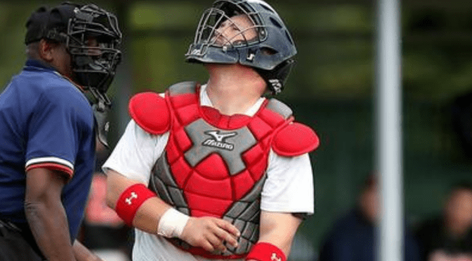 Red Wings Catcher's Choice To Wear Mask During Game Causes Controversy