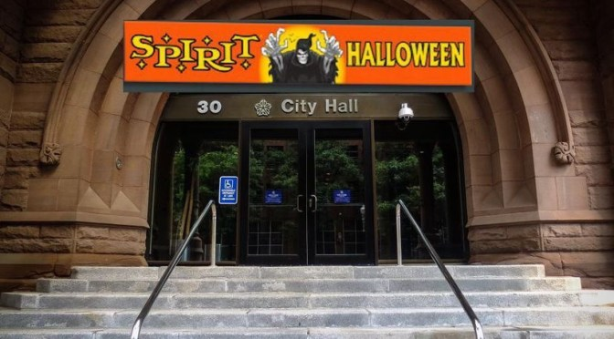 Spirit Halloween Opens New Location in Vacant Mayors Office