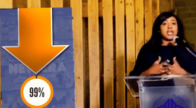 Mayor Warren's Approval Rating Plummets to 99%, Reports Mayor Warren