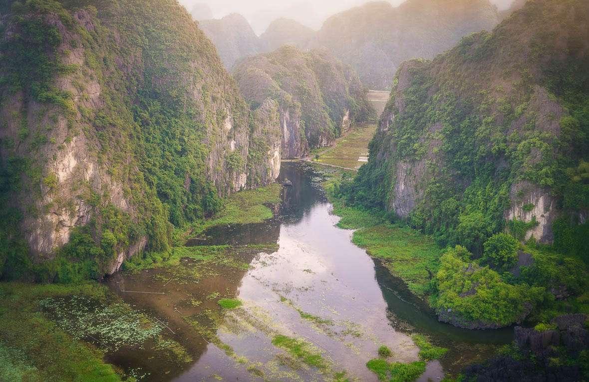Vietnam Landscape - Travel Quotes