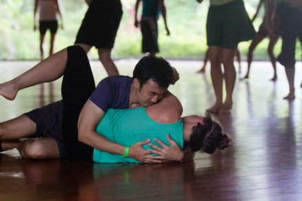 Inner Rhythm, tender moments at Ecstatic Dance Retreat, Big Island, Hawaii
