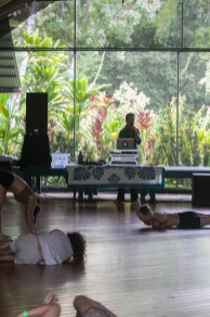Nice Workshop setting, Ecstatic Dance Retreat, Big Island, Hawaii
