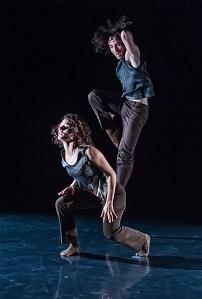 Choreografie Marco Rizzi Abbildung Aurélie Robichon, Iacopo Loliva