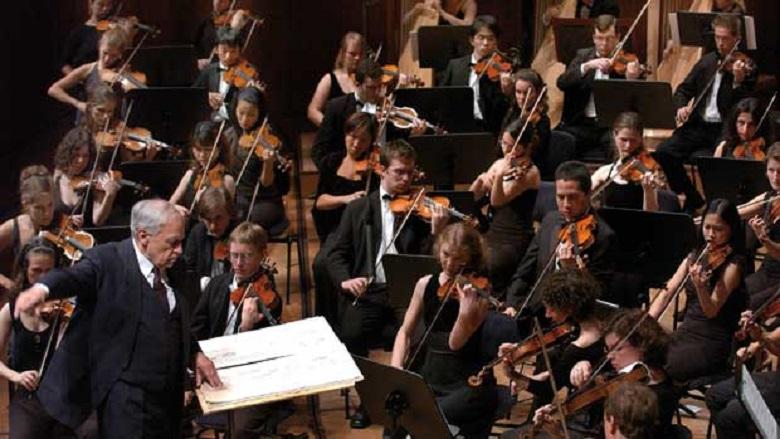 Pierre Boulez und das LUCERNE FESTIVAL ACADEMY Orchestra