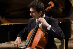 Solist am Cello Aurélien Pascal