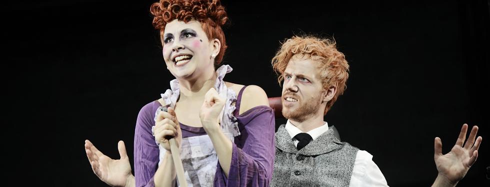 Sweeney Todd The Demon Barber of Fleet Street. A Musical Thriller