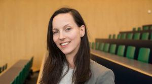 Teilnehmerin der Podiumsdiskussion Lilla Lukacs, Medienbeauftragte Greenpeace Schweiz