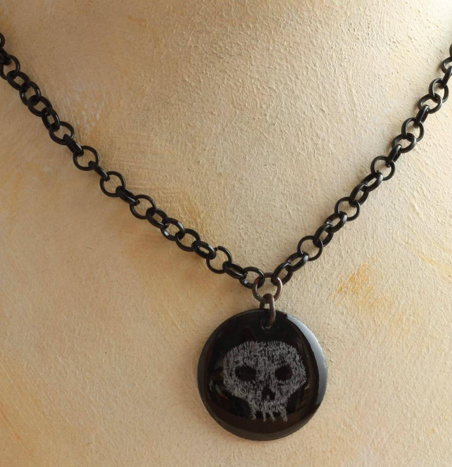 Chalk Skull (skull VIII)
