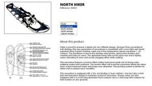 North Hiker Info