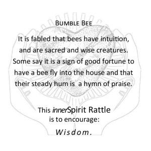 Bee innerSpirit Rattles Storycard