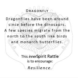 Dragonfly innerSpirit Rattles Storycards
