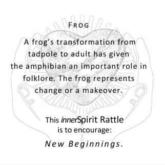Frog innerSpirit Rattles Storycards