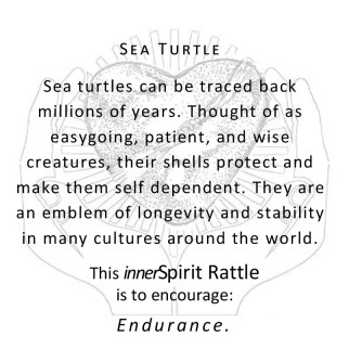 Sea Turtle innerSpirit Rattles Storycards