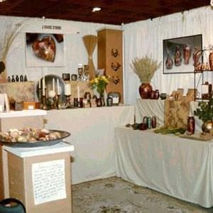 J Davis Studio innerSpirit Rattles American Craft Display