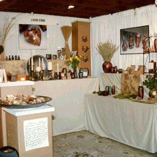 J Davis Studio innerSpirit Rattles American Craft Display