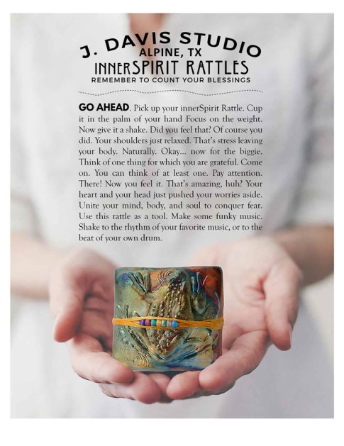 Pick up your innerSpirit Rattle
