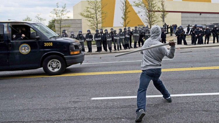 Baltimore riots bring anti-black sentiment bubbling to the surface... in China
