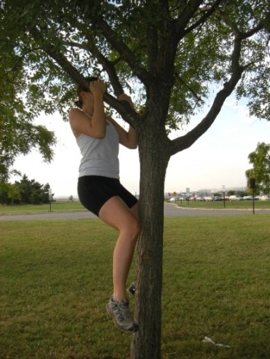 Tree Pullup!