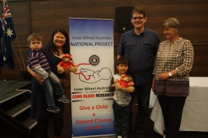 The Hill Family with National Project Coordinator Susan Parry