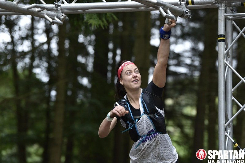 Andrea from Innes Reid Investments Limited takes on one of the 60 obstacles.