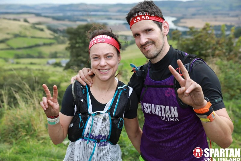 Andrea from Innes Reid Investments Limited and her partner Michael take on Spartan Race.