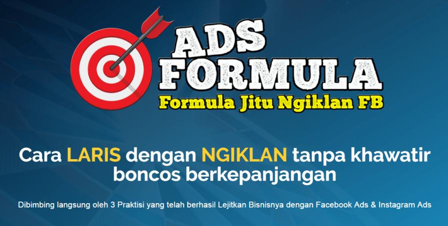 Ads Formula untuk Meledakkan Penjualan