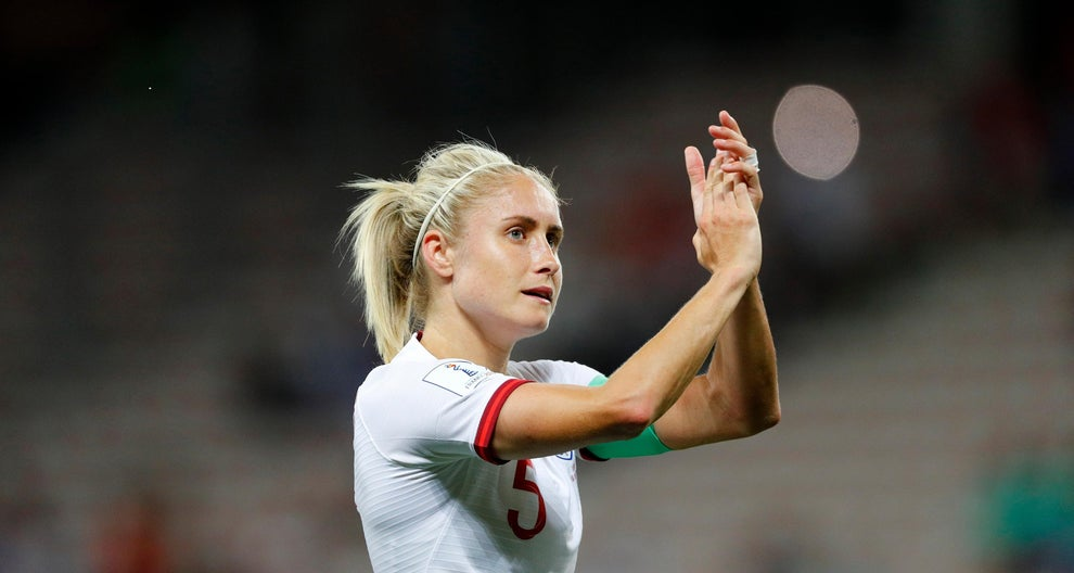 Steph Houghton honoured by the North East Football Writers' Association and the Sir Bobby Robson Foundation