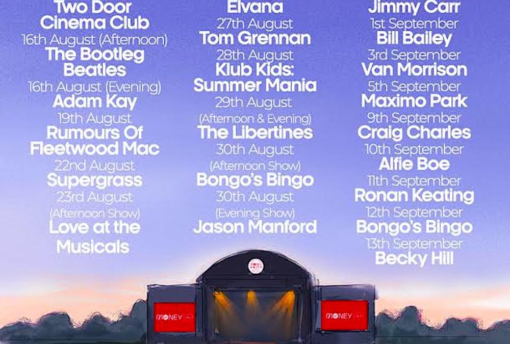 Blues legend Van Morrison and comedian Jimmy Carr confirmed for Virgin Money Unity Arena
