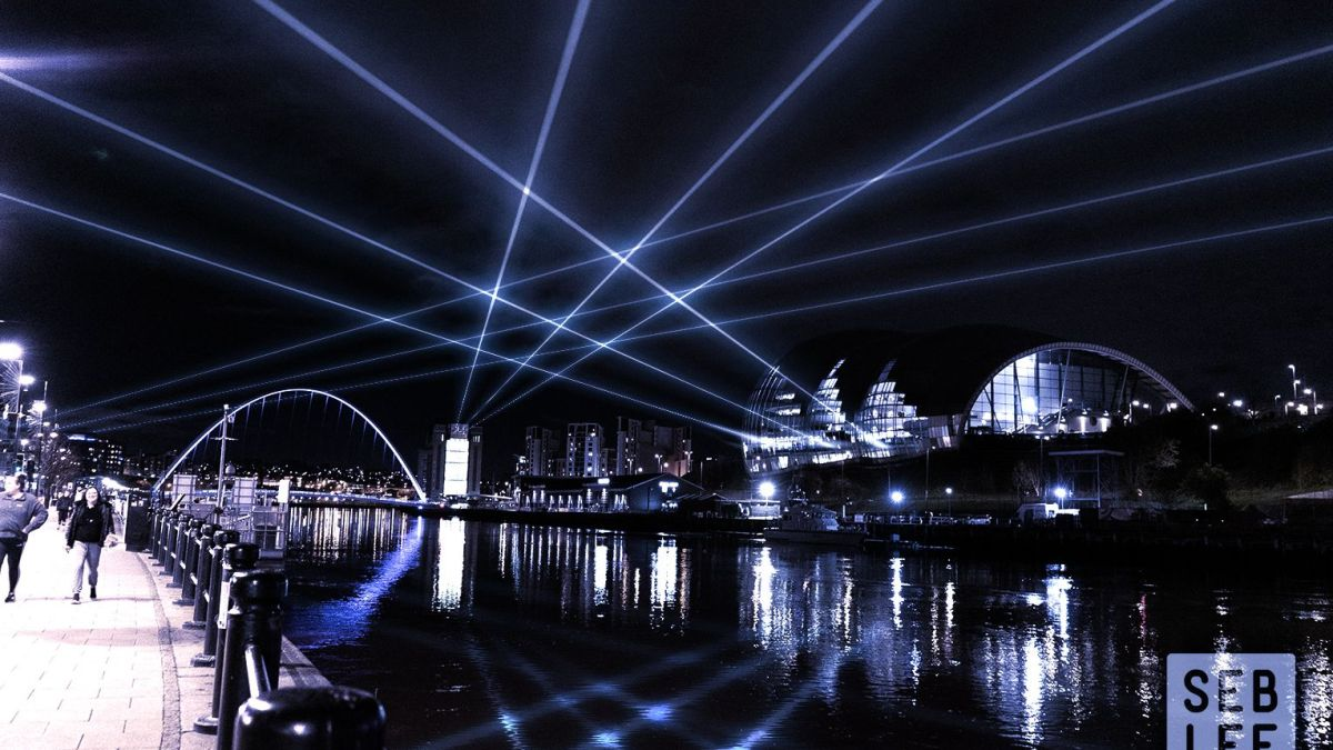 LASER LIGHTS TO FILL THE NIGHT SKIES OF NEWCASTLE