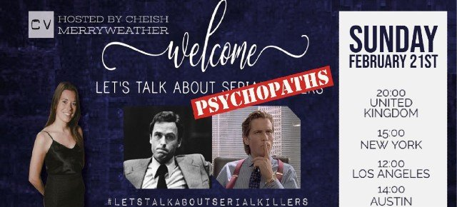 'Inside the Mind of Psychopaths – LIVE'