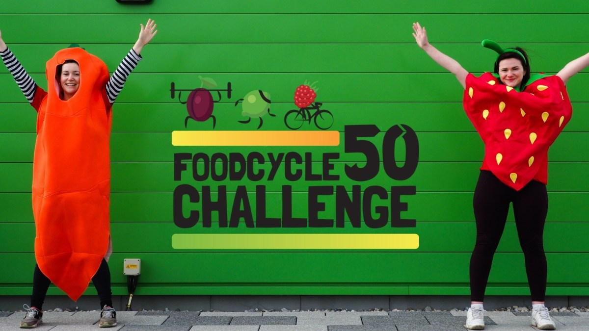 FOODCYCLE 50 CHALLENGE LAUNCHES THIS APRIL