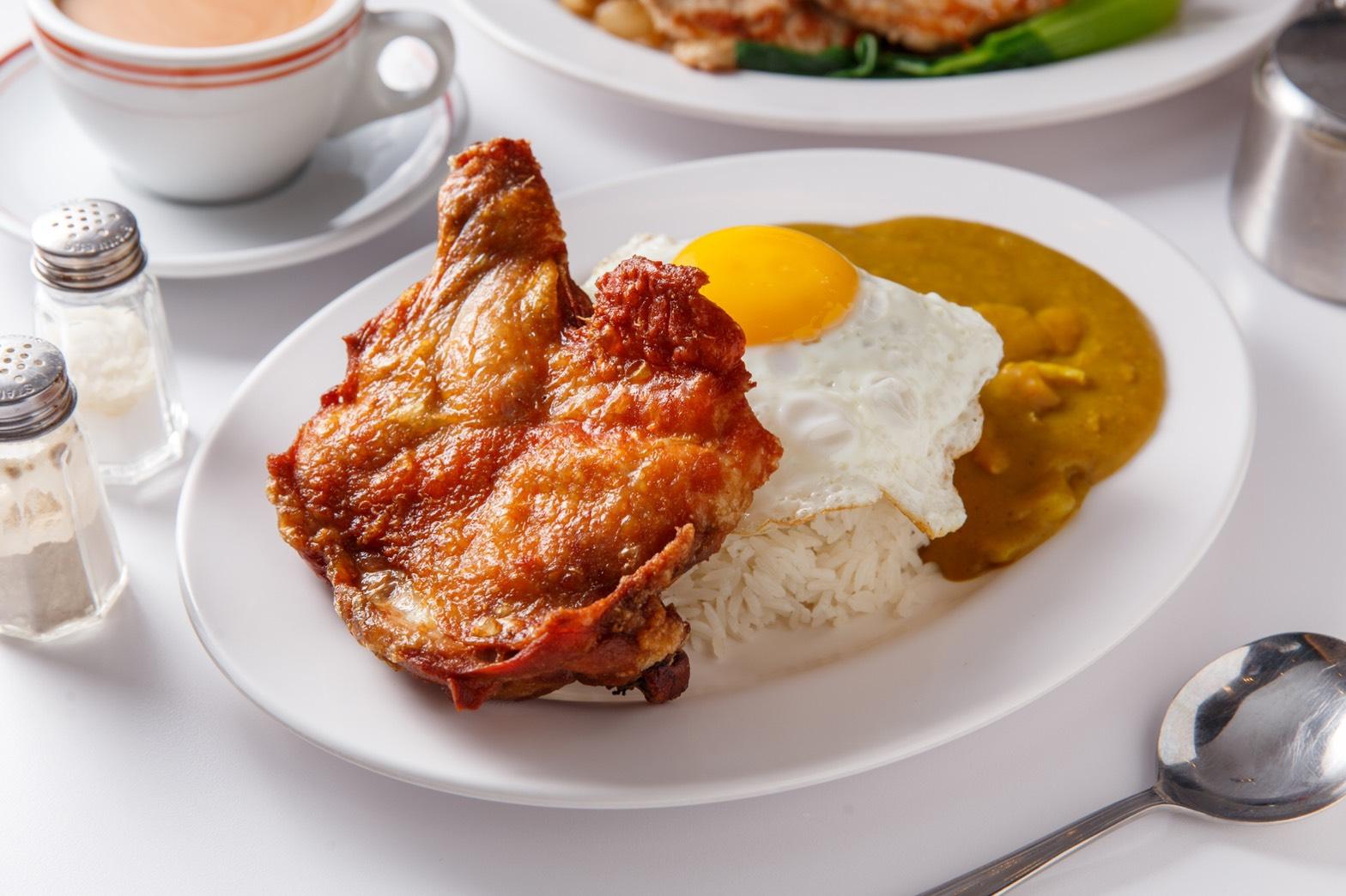正宗香港茶餐廳-萬芳冰室 比臉大生炸雞腿一元請你吃-生活-HiNet生活誌
