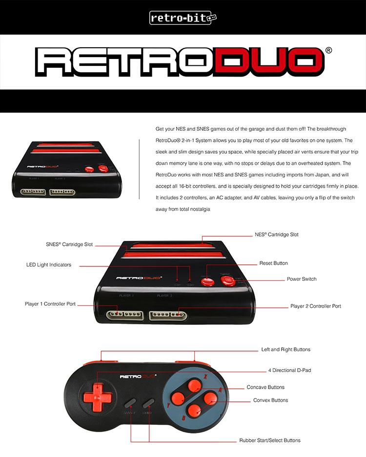 RetroDuo by Retro-Bit