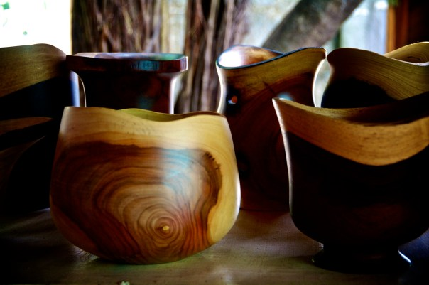 Exotic Wooden Bowls
