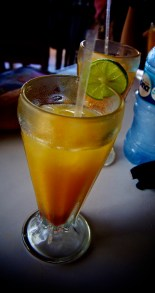 EL MACUA (The National Drink of Nicaragua): El Restaurante Bucaneros, Masaya, Nicaragua
